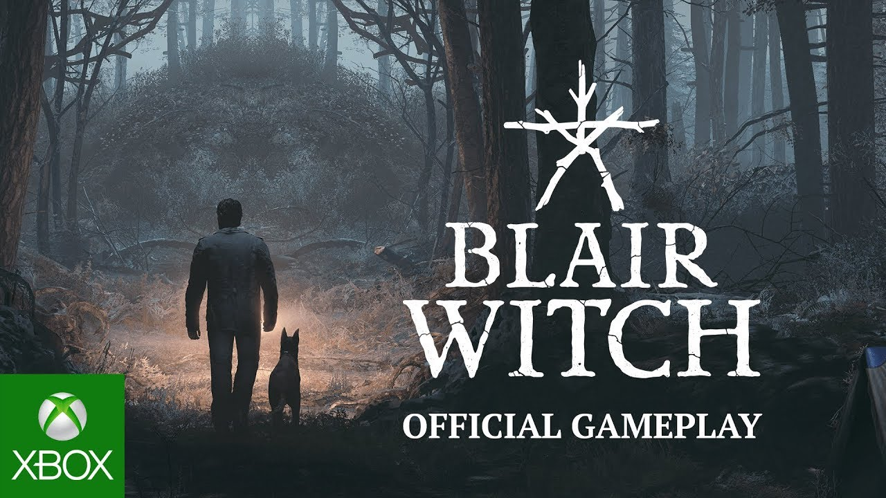 Blair Witch Trailer de jogabilidade
