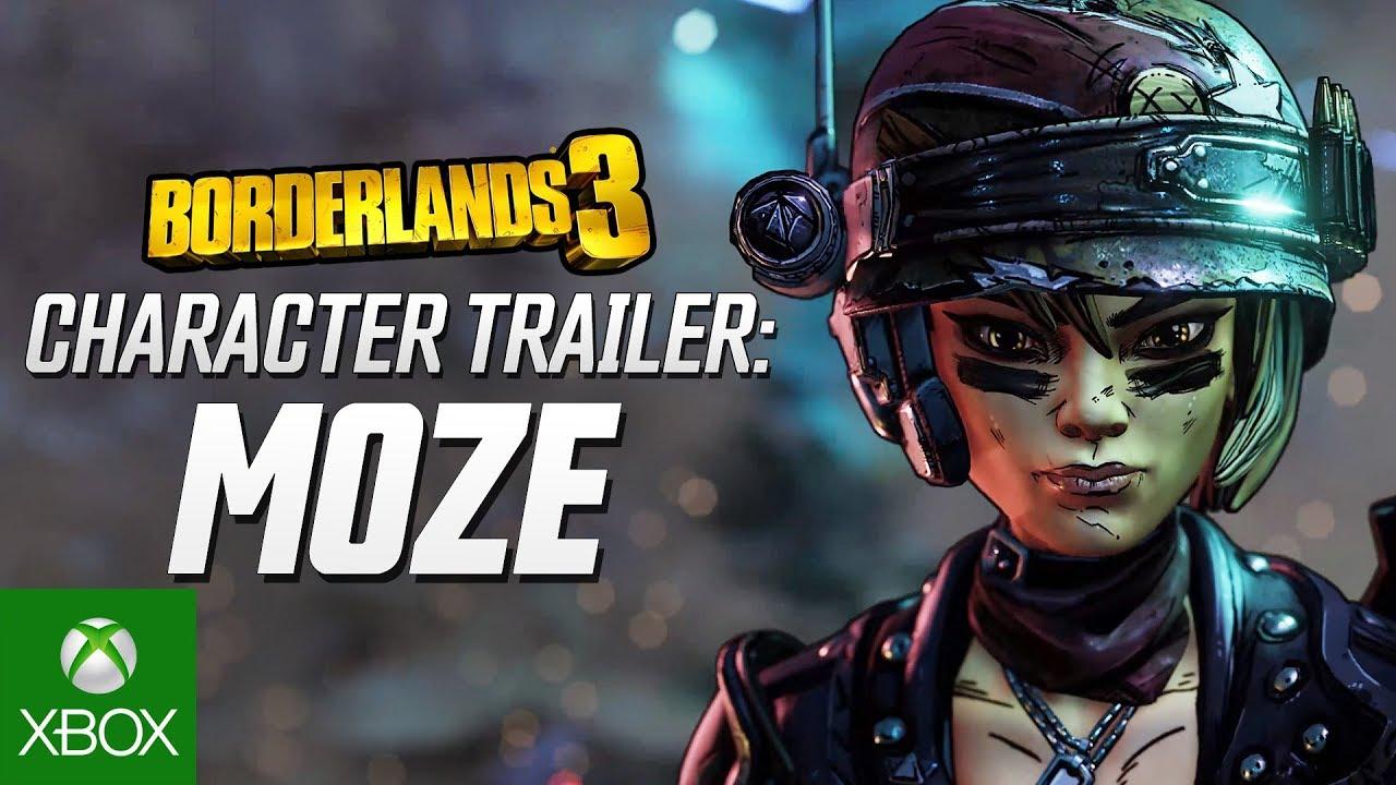 "Borderlands 3 – Moze Character Trailer: ""The BFFs"""