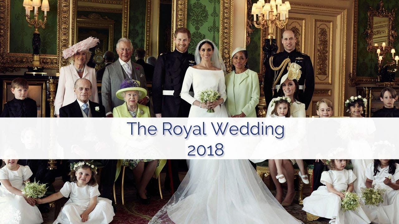 Casamento real em direto no canal oficial da Família Real, no Youtube