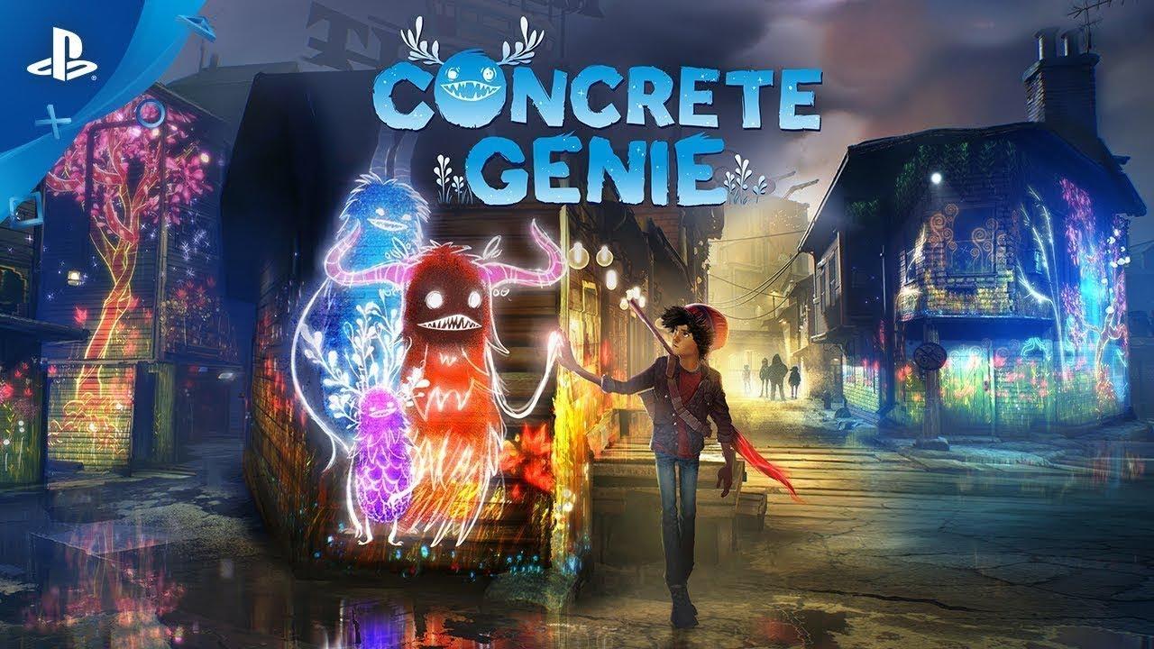 Concrete Genie   Disponível a 09 de outubro de 2019!   PS4