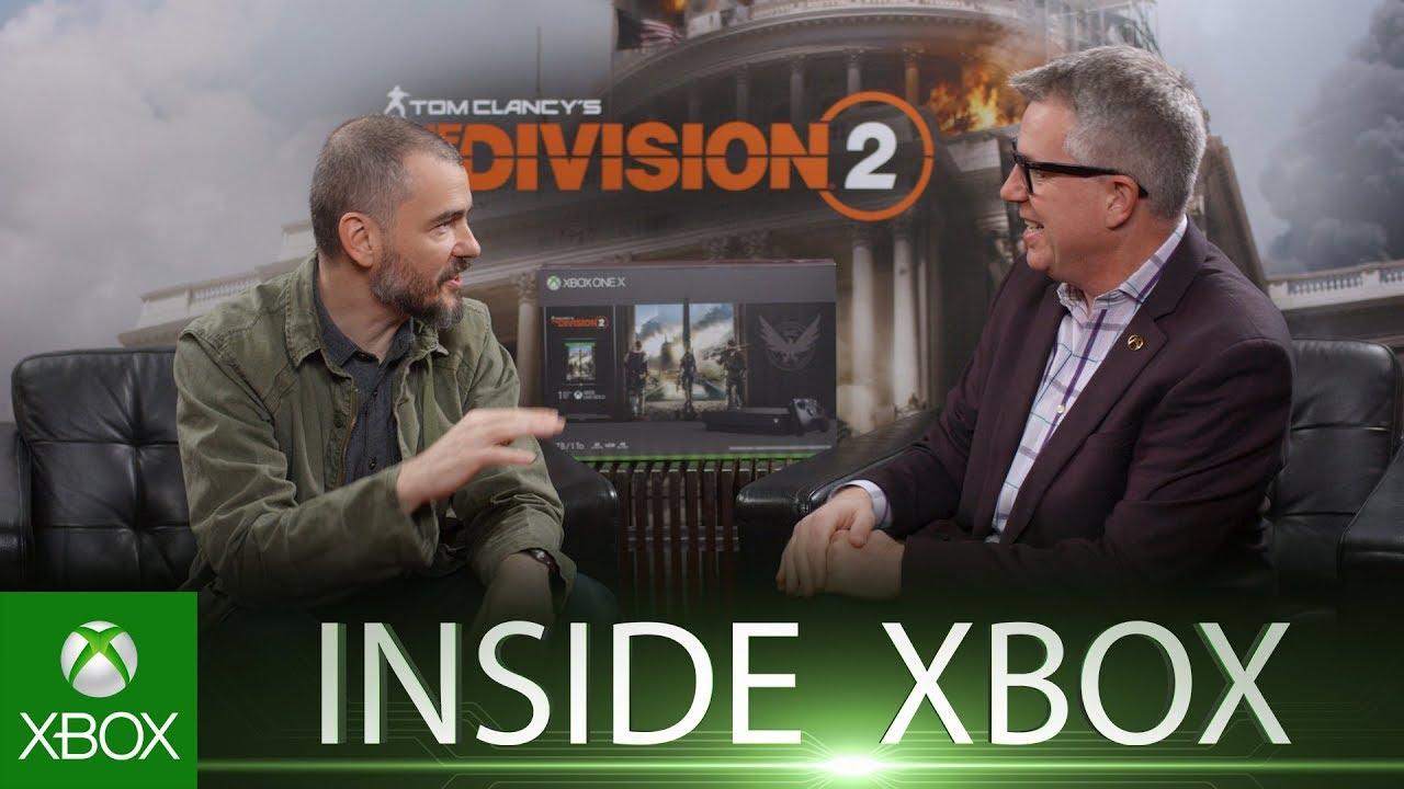 O director criativo de The Division 2 falou sobre o que se pode esperar do novo jogo