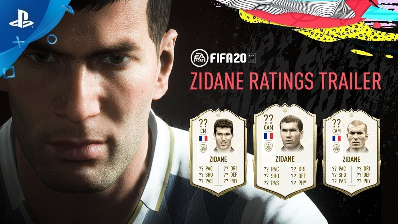 FIFA 20 | Zinedine Zidane: Revelação FUT Icons | PS4