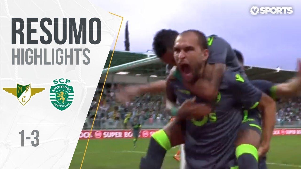 Highlights | Resumo: Moreirense 1-3 Sporting (Liga 18/19 #1)