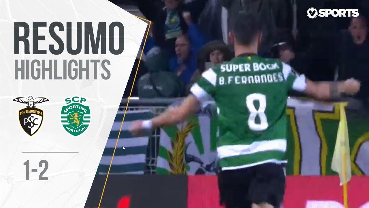 Highlights | Resumo: Portimonense 1-2 Sporting (Liga #32)