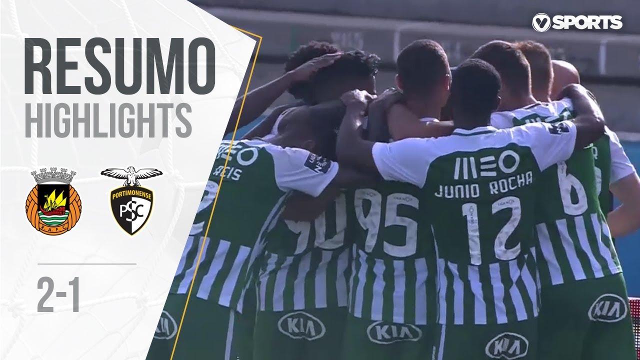 Highlights | Resumo: Rio Ave 2-1 Portimonense (Liga 18/19 #4)