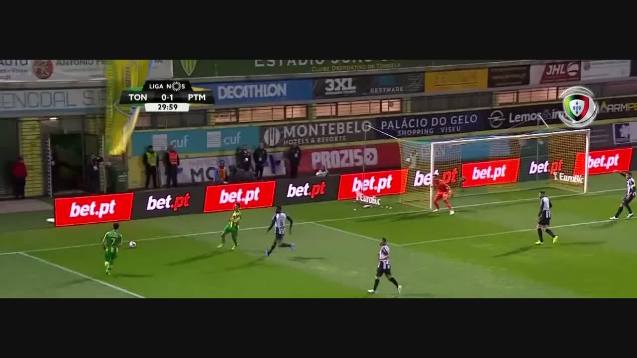 Liga (28ªJ): Resumo CD Tondela 3-2 Portimonense