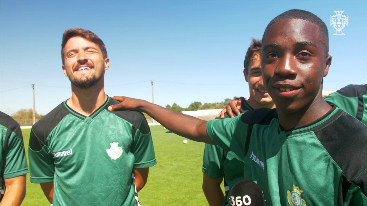 """Liga Revelação – Plantel Vitória FC: Kevin, um """"apresentador"""" nato"""
