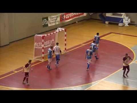 Liga Sport Zone, 1.º jogo quartos-de-final: AD Fundão 4-2 Modicus Glassdrive