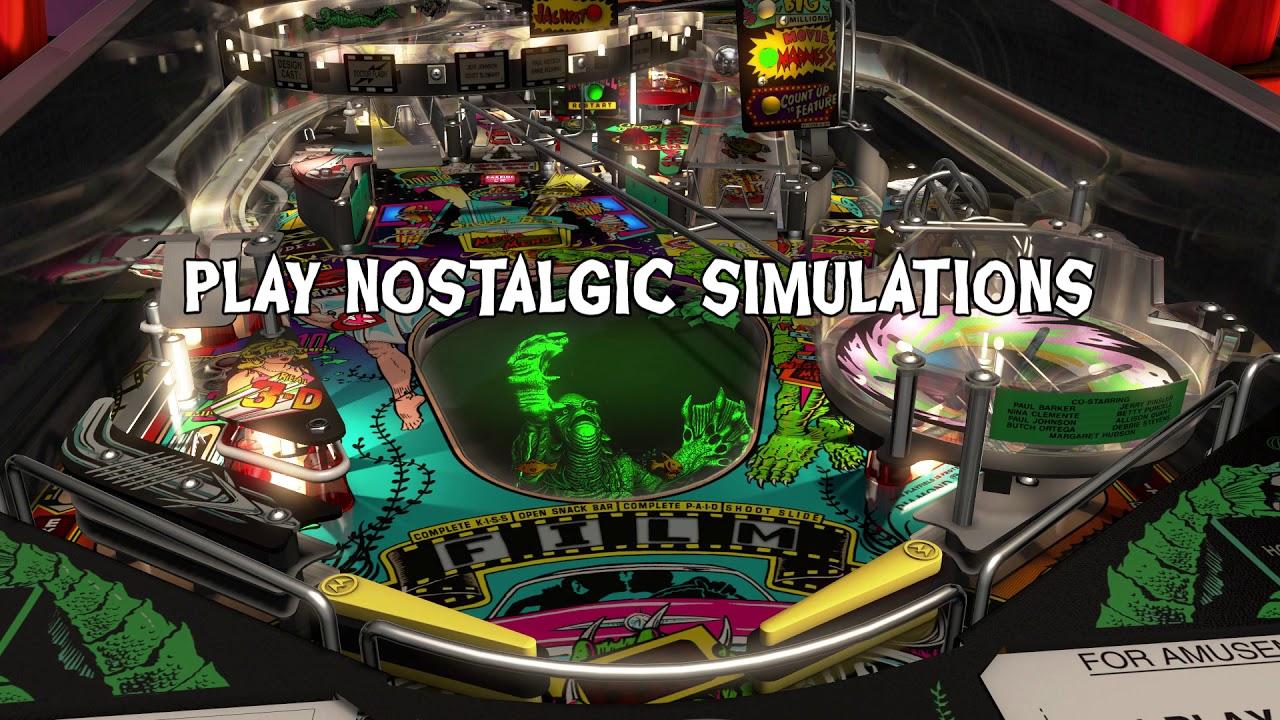 Pinball FX3 – Williams Pinball: Universal Monster Pack – Trailer de lançamento (Nintendo Switch)