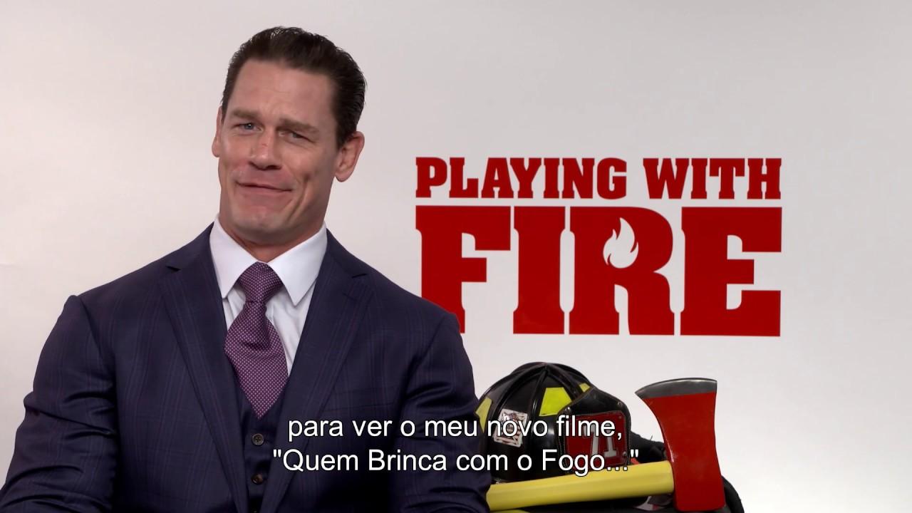 Quem Brinca Com O Fogo… | Mensagem John Cena | Paramount Pictures Portugal (HD)