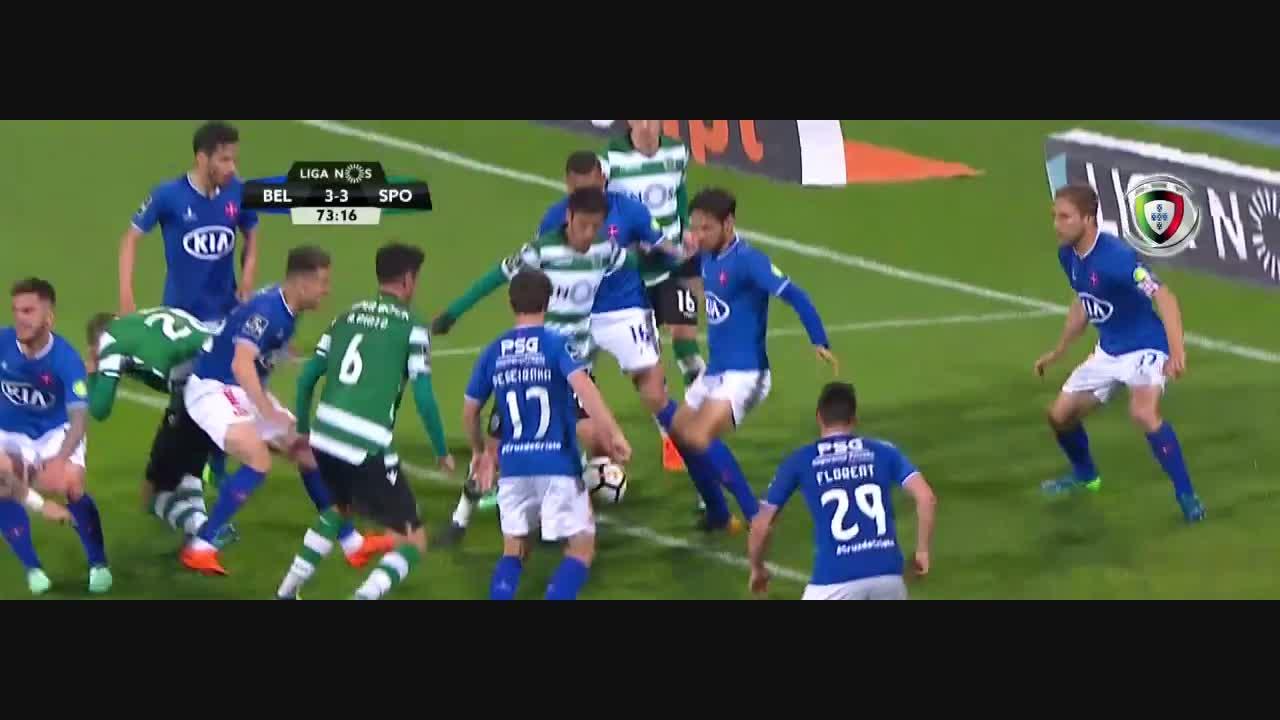 Sporting CP, Golo, Bruno Fernandes (g.p.), 80m, 3-4