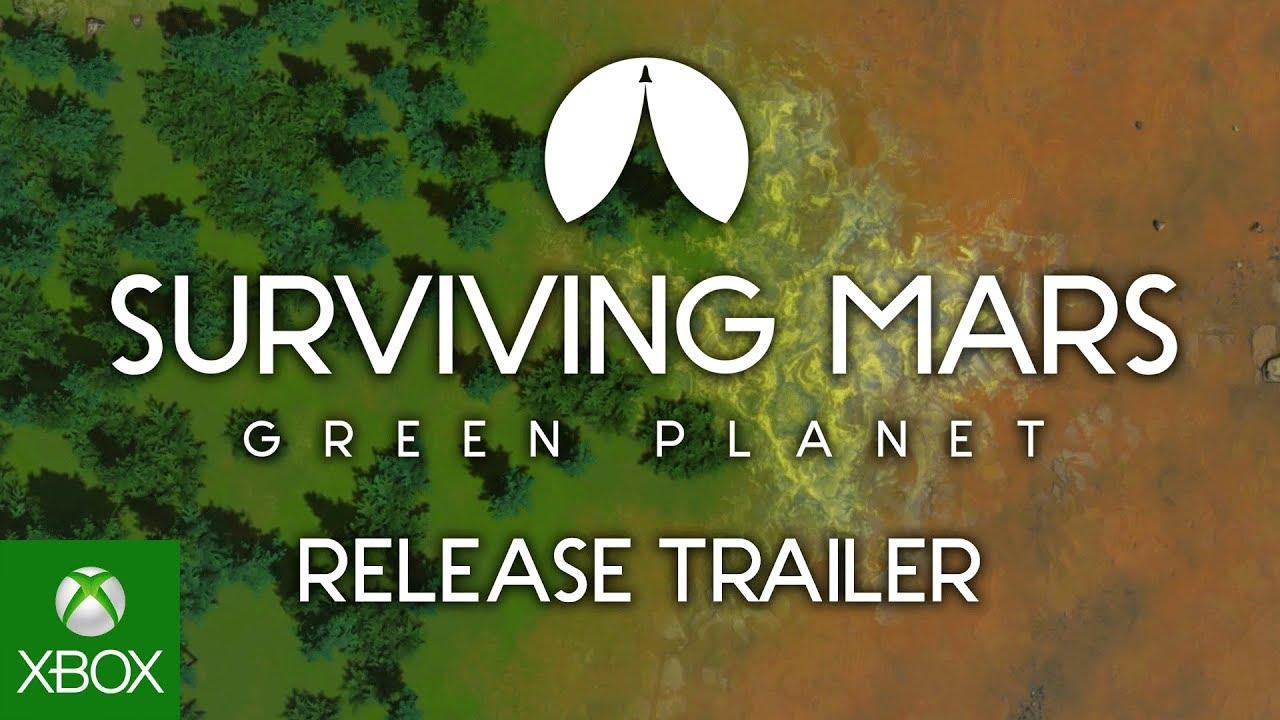 Surviving Mars: Green Planet – Trailer de lançamento