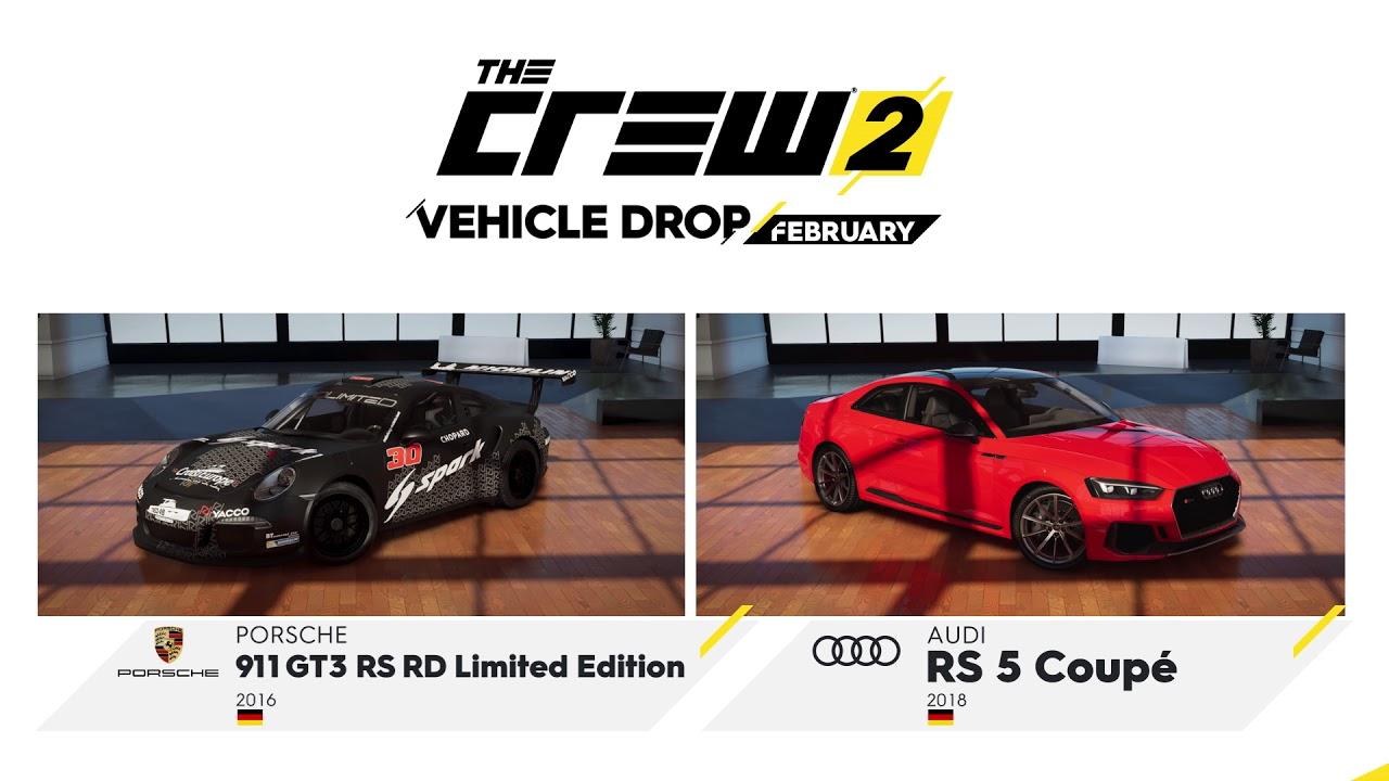 The Crew 2: February Vehicle Drop Trailer   Ubisoft [NA]