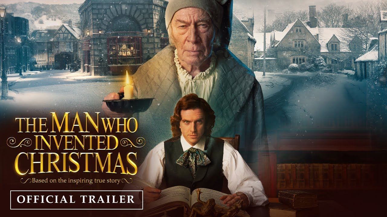 """The Man Who Invented Christmas"" já tem trailer e poster"