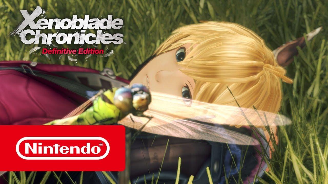 Xenoblade Chronicles: Definitive Edition – Trailer de revelação (Nintendo Switch)