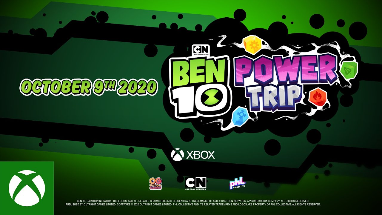 Ben 10 Power Trip! Announce Trailer