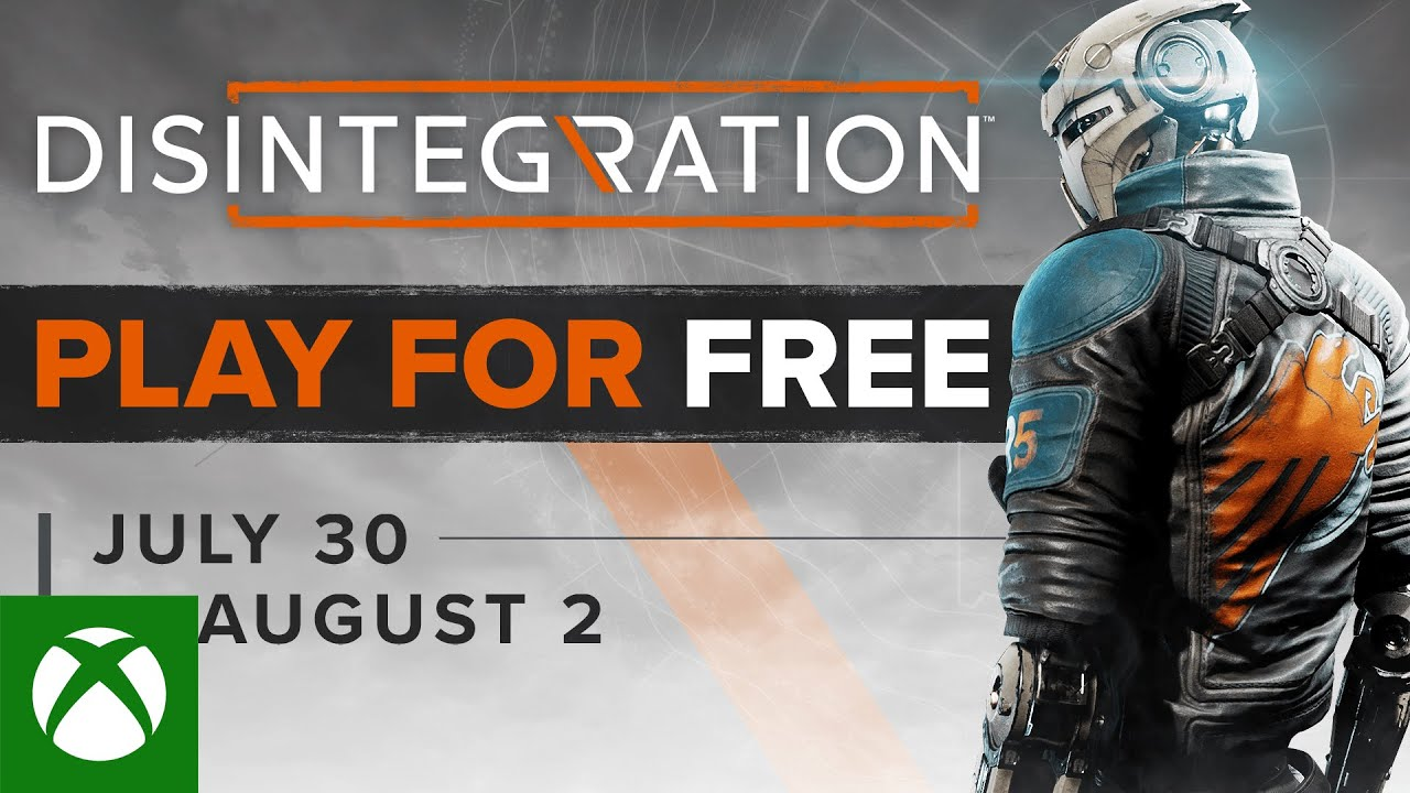Disintegration - Play for Free Weekend