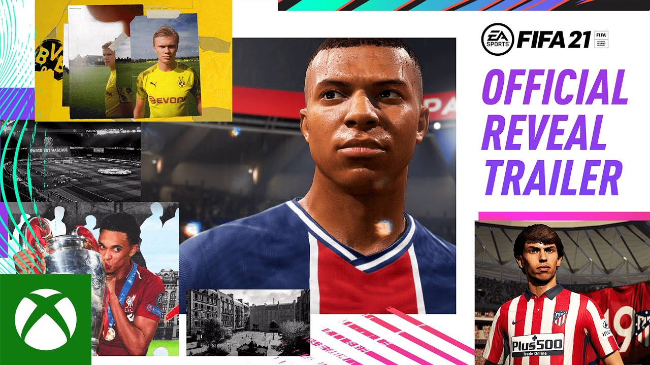 FIFA 21 Official Reveal Trailer | Win As One ft. Kylian Mbappé