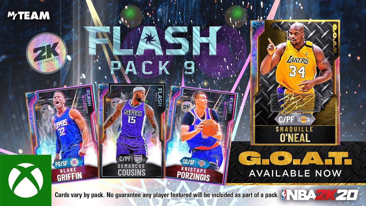 NBA 2K20 MyTEAM: Flash Pack 9