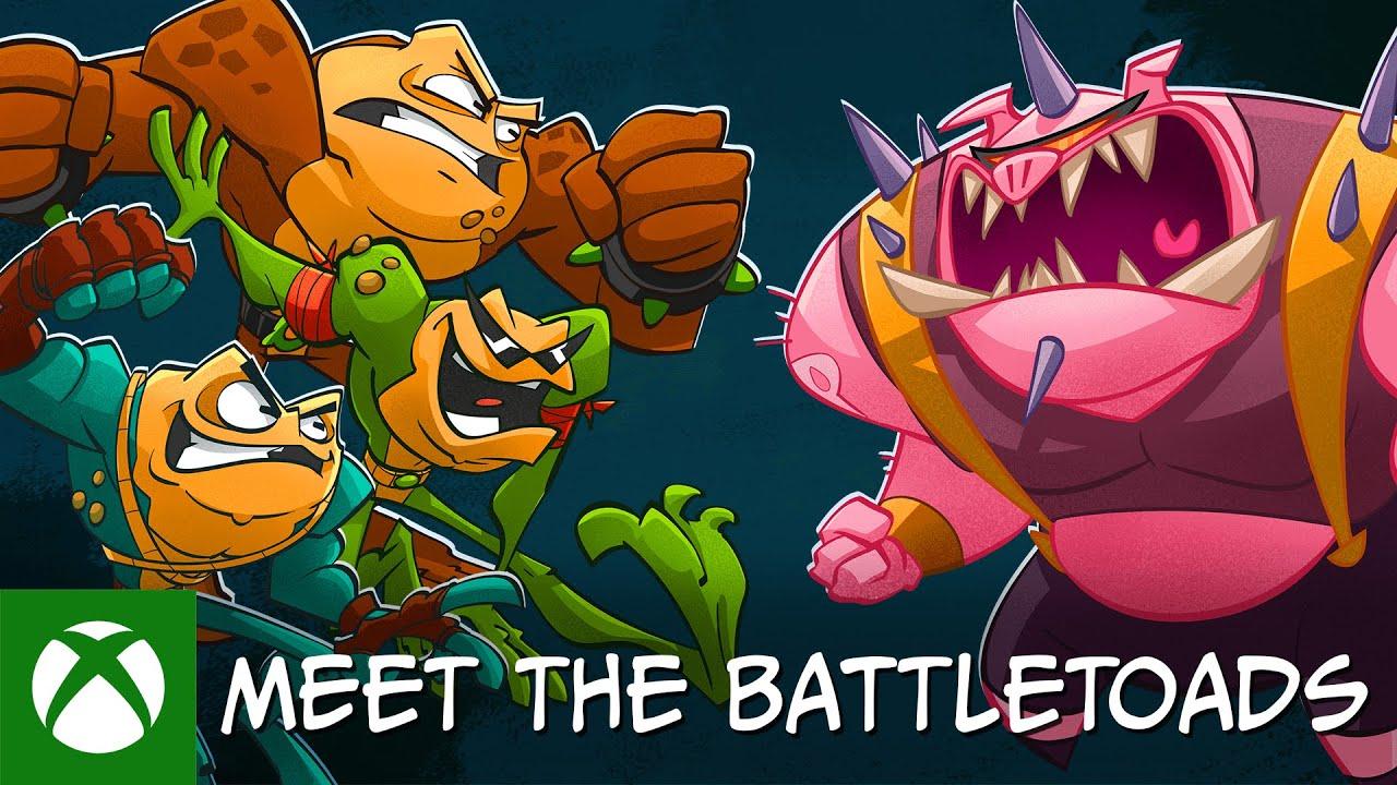 Battletoads Behind the Scenes - Meet the Battletoads