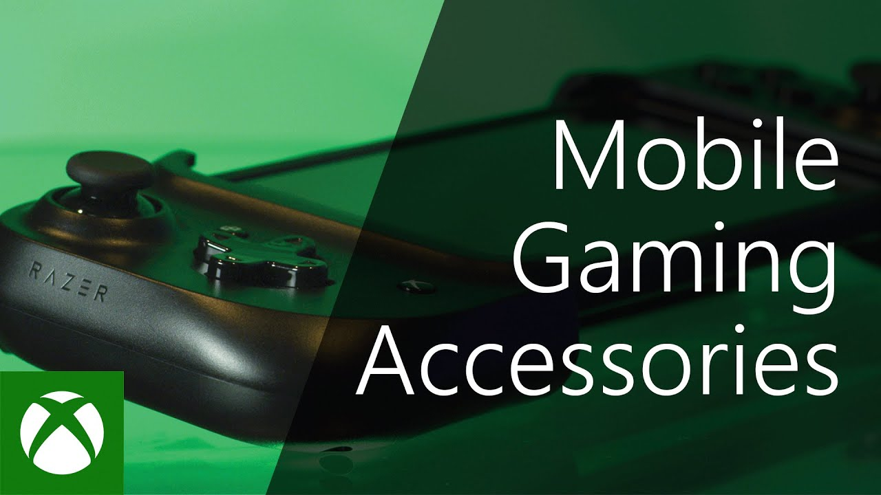 Xbox Mobile Gaming Accessories - YouTube