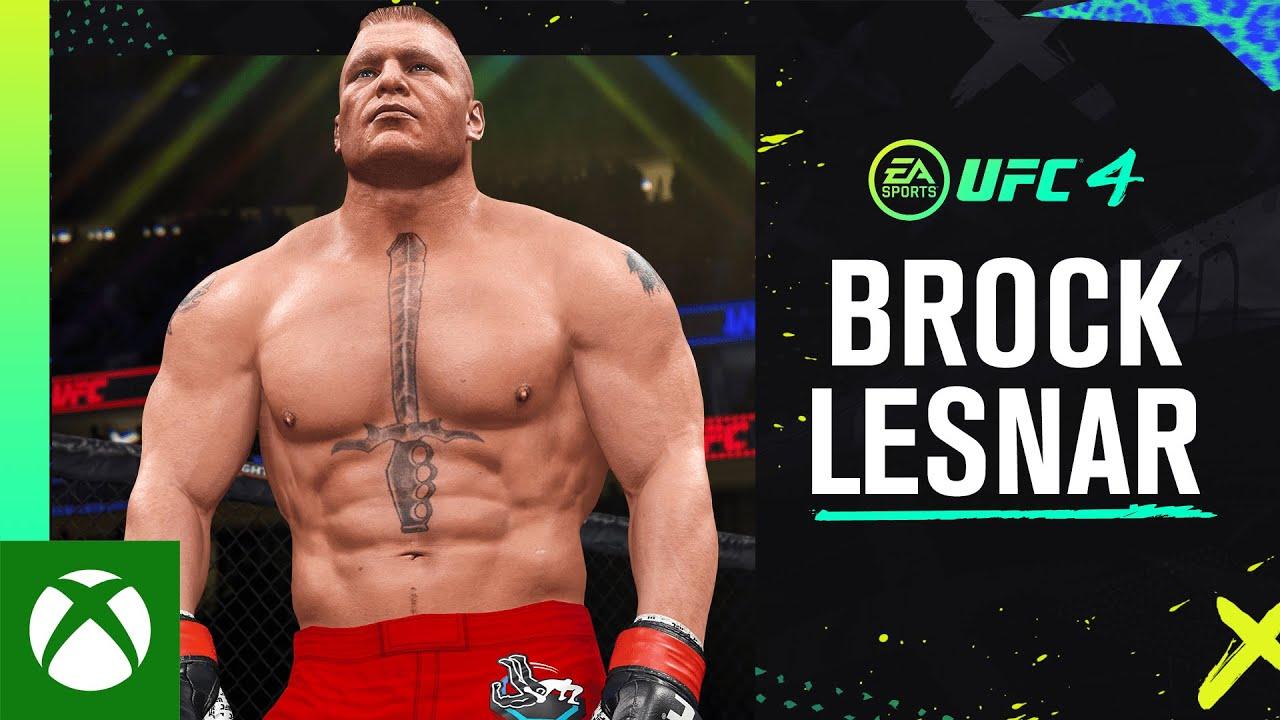 Brock Lesnar Reveal Trailer | EA SPORTS UFC 4