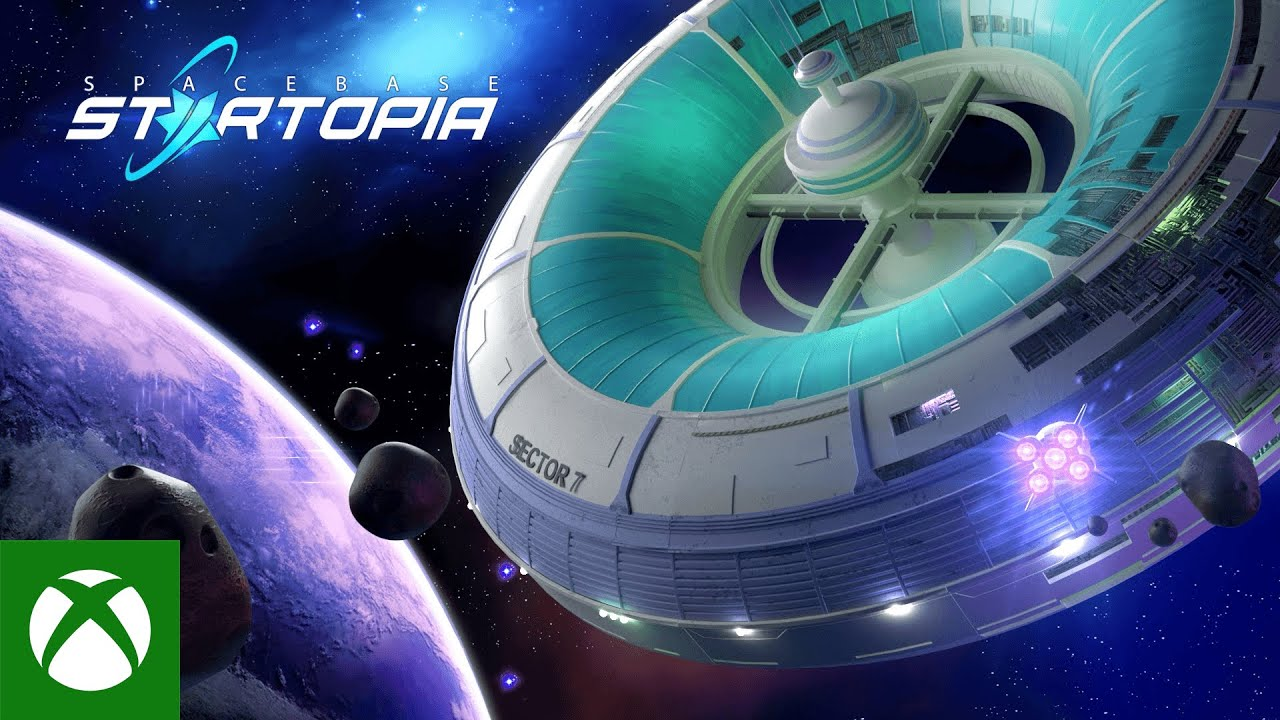 Spacebase Startopia Xbox Preview Launch Trailer