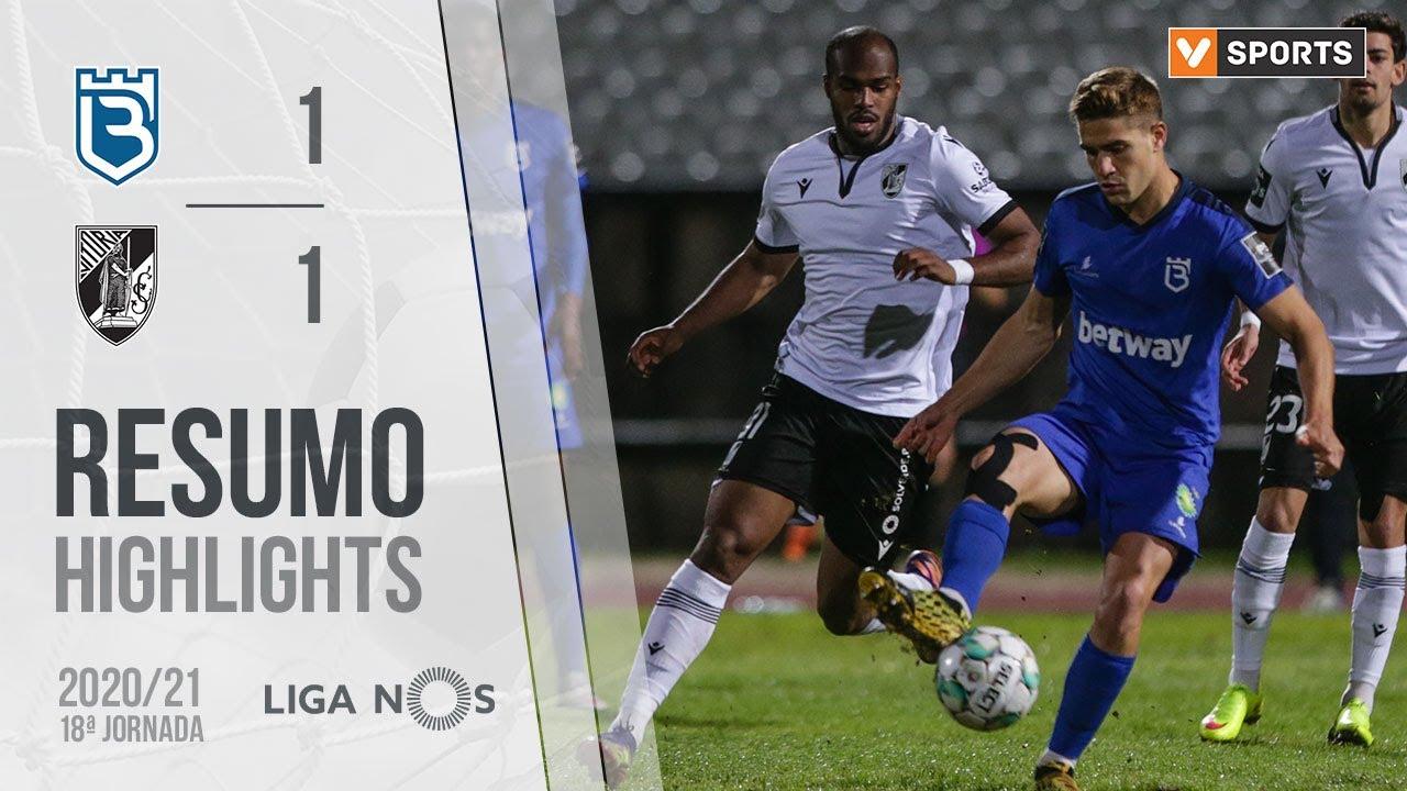 Highlights | Resumo: Belenenses SAD 1-1 Vitória SC (Liga 20/21 #18)
