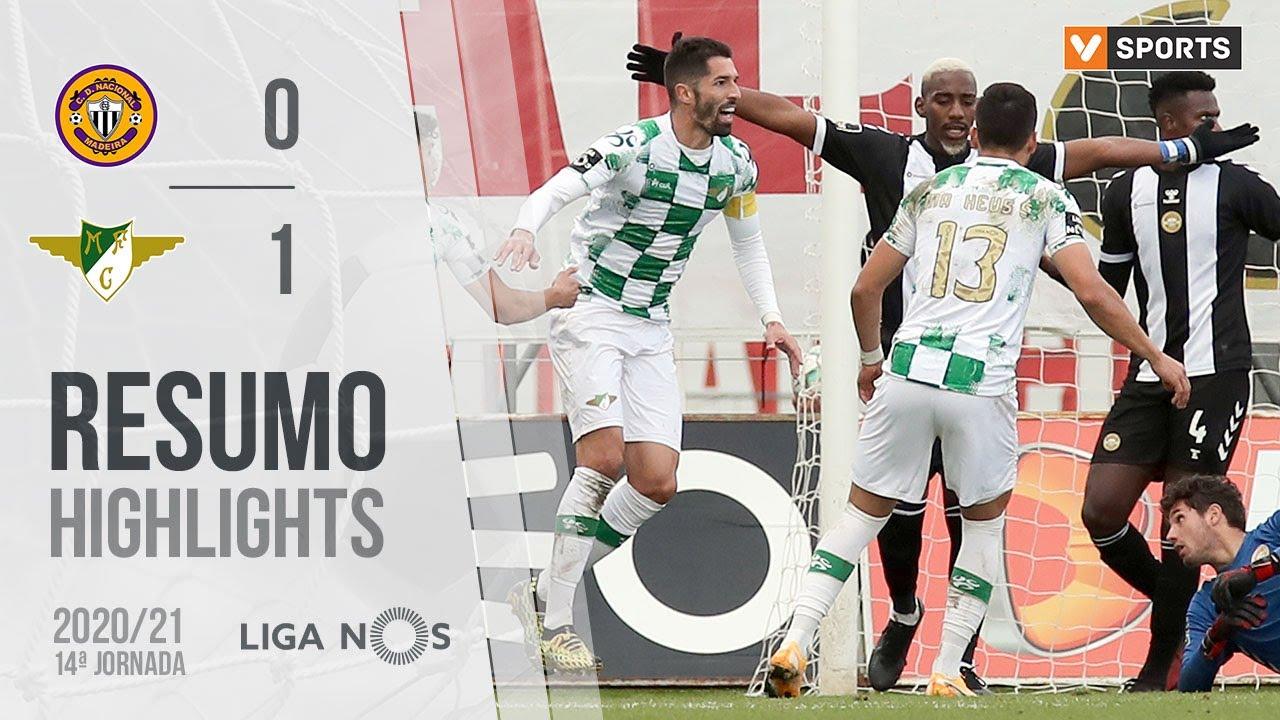 Highlights   Resumo: CD Nacional 0-1 Moreirense (Liga 20/21 #14)