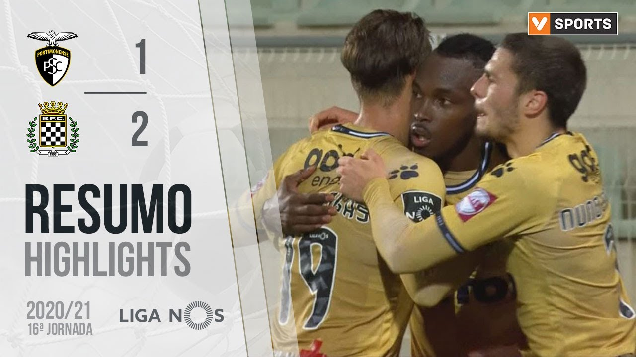 Highlights | Resumo: Portimonense 1-2 Boavista (Liga 20/21 #16)