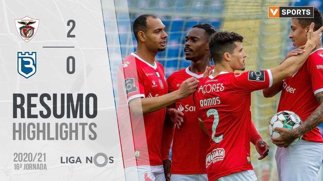 Highlights   Resumo: Santa Clara 2-0 Belenenses SAD (Liga 20/21 #16)