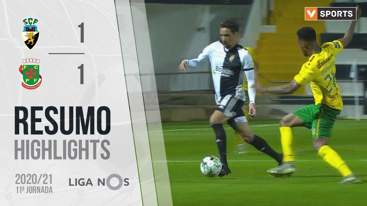 Highlights | Resumo: SC Farense 1-1 Paços de Ferreira (Liga 20/21 #11)