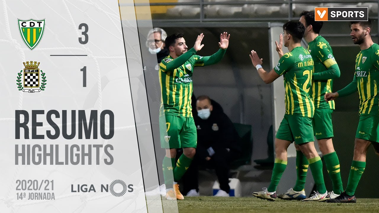 Highlights | Resumo: Tondela 3-1 Boavista (Liga 20/21 #14)