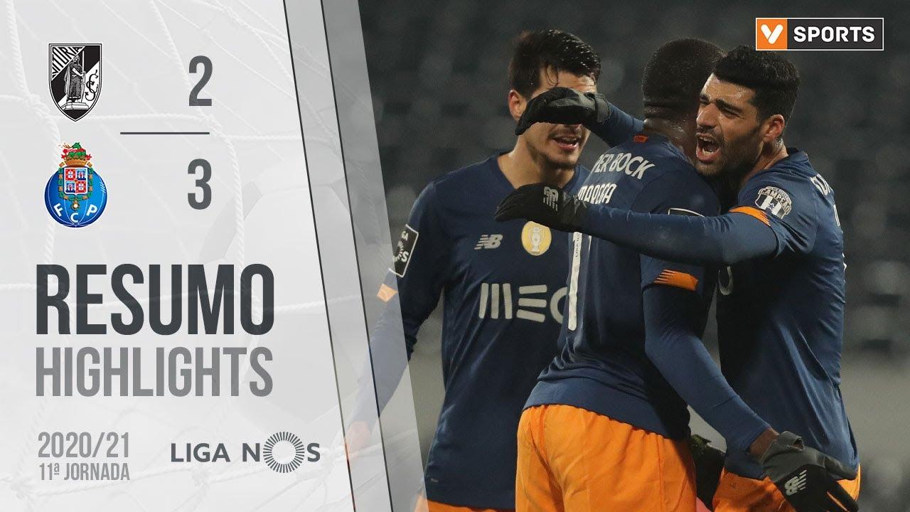 Highlights | Resumo: Vitória SC 2-3 FC Porto (Liga 20/21 #11)
