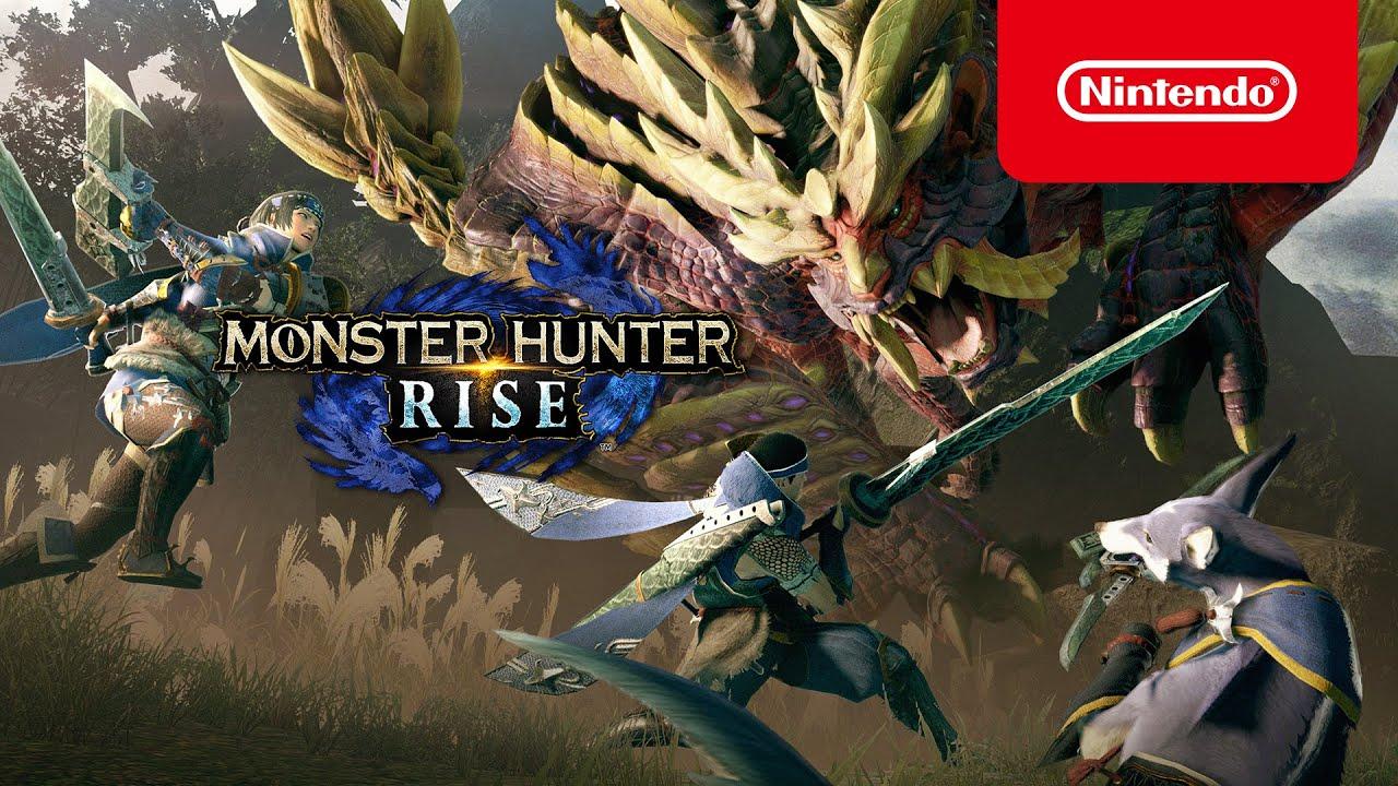 Juntem-se à caçada em MONSTER HUNTER RISE – já disponível! (Nintendo Switch)